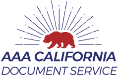 AAA California Document Logo
